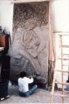 maiso du la roche artist at work